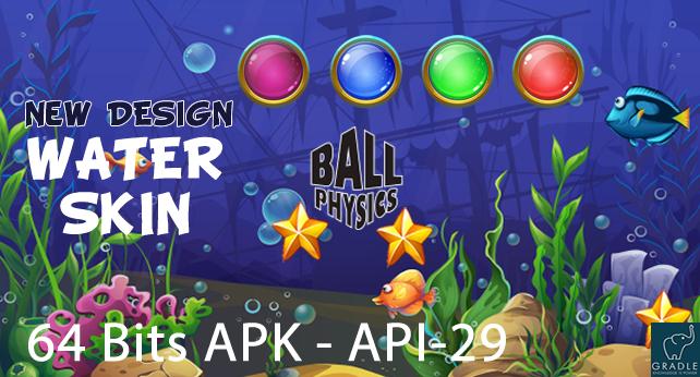 Ball Physics V2 (Facebook + Android Studio) - 2