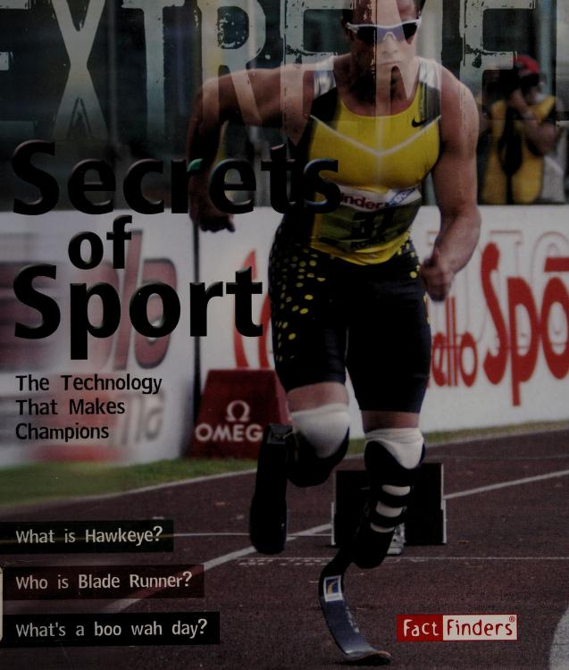 Secrets of sport by James de Winter
